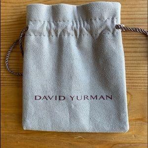 Authentic David Yurman Storage Pouch